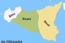 La Sicilia prima della colonizzazione dei Greci, avvenuta intorno al VII secolo a.C.