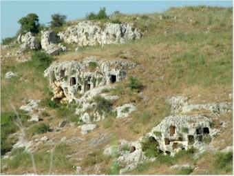 Necropoli di Pantalica in provincia di Ragusa