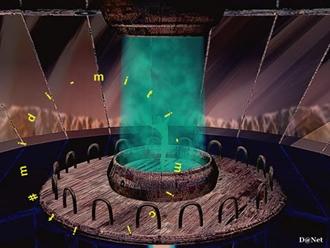 La macchina del tempo, immagine da computergrafica di Daniele La Grassa