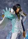 BANDAI One Piece Figuarts ZERO PVC Statue The Three Admirals Kuzan Aokiji 20 cm