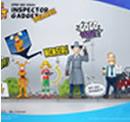 5Pro Studio BLITZWAY - ISPETTORE GADGET + Bravo e Penny + Quimby ACTION FIGURE 1/12 DLX ANIME SET
