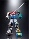BANDAI - SOUL OF CHOGOKIN - GX-40R ROKUSHIN GATTAI SIX GOD COMBINATION GODMARS 28 cm
