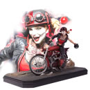 DC Comics Gotham City Garage Statue Harley Quinn 22 cm