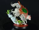 FIRST 4 FIGURES - OKAMI AMATERASU PVC STATUE 22 CM