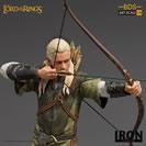 Iron Studios Il Signore degli Anelli Lord Of The Rings BDS Art Scale Statue 1/10 Legolas 23 cm