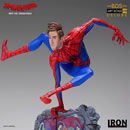 Iron Studios Spider-Man Into the Spider-Verse BDS Art Scale Deluxe Statue 1/10 Peter Parker Spiderman 21 cm