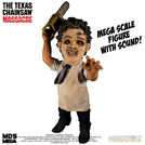 MEZCO Texas Chainsaw Massacre Mega Scale Action Figure with Sound Feature Leatherface 38 cm