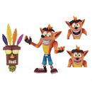 Neca - Crash Bandicoot Ultra Deluxe Action Figure Crash with Aku Aku Mask 14 cm