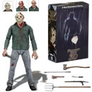 NECA Venerdì 13 parte III - Weekend di terrore Friday the 13th Part 3 Action Figure Ultimate Jason 17 cm