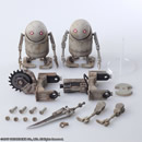 NIER : AUTOMATA  BRING ARTS MACHINE SET  2 FIGURE SET.